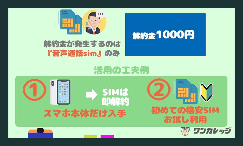 OCNモバイル メリット