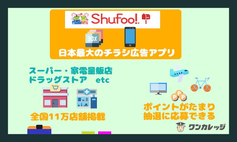 シュフーアプリ 広告アプリ