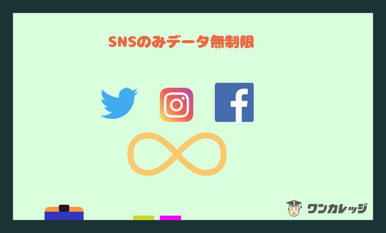 LINEモバイル SNS